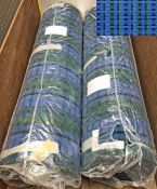 2 rolls (approx 50 metres) of brand-new London Transport SEAT MOQUETTE as used on DMS, MB, SM etc