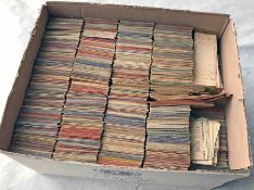 Huge quantity (c19,000) of London Transport Buses PUNCH TICKETS of the late 1940s/early 1950s '