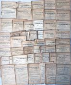 Quantity (c50) of 1930-32 London General Omnibus Company TRAFFIC CIRCULARS. All appear to be