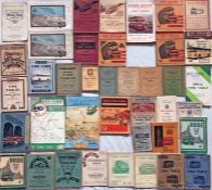 Quantity (40) of 1920s-60s BUS TIMETABLE etc BOOKLETS for various operators including Douglas IoM,