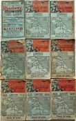 """Selection (9) of 1930s """"THE ROADWAY"""" Express Services/Motor-Coach Time Table & Guide booklets"""
