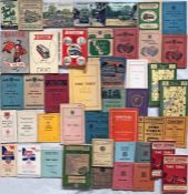 Quantity (44) of 1930s-60s BUS TIMETABLE etc BOOKLETS for various operators including Aberdeen Corp,