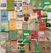 Quantity (43) of 1930s-60s BUS TIMETABLE etc BOOKLETS for various operators including Silver Service
