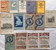 Selection (14) of 1920s/30s COACH TIMETABLE BOOKLETS from various contemporary London coach