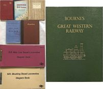 Selection (8) of RAILWAY PUBLICATIONS comprising 5 x Great Western Railway issues: 1924 'North Wales