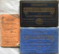 Selection (3) of very early London GUIDE BOOKS comprising 1859 Rowe's 'London and its Amusements'