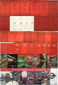 Set of London Transport ANNUAL REPORTS & ACCOUNTS comprising 1934-47 (complete, incl WW2 abridged