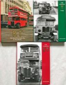 Trio of Capital Transport BOOKS by Ken Blacker comprising the definitive histories of the RT (The