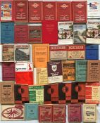 Quantity (40) of 1920s-70s BUS TIMETABLE etc BOOKLETS for various operators including Midland Red,