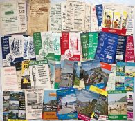 Very large quantity (170+) of 1930s-70s Maidstone & District COACH TIMETABLE LEAFLETS & EXCURSION