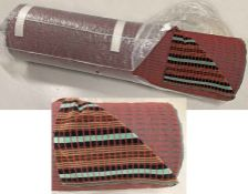 Roll (25 metres) of brand-new London Transport SEAT MOQUETTE as used on RT, RTL, RTW, RF, RLH, GS
