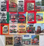 Quantity (19) of BUS BOOKS published by Capital Transport including LT, RT, ST, STLs, RF, T,