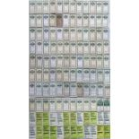 Very large quantity (120) of London Transport/London Country POCKET MAPS for Green Line Coaches from