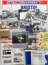 Box containing a large quantity of National Express and Associated Motorways (mainly the former)