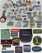 Considerable quantity (60+) of BUS etc BADGES - enamel, alloy, cloth, PSV etc - cap, lapel,