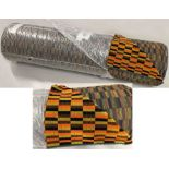 Roll (25 metres) of brand-new London Transport SEAT MOQUETTE designed by Misha Black and used on the