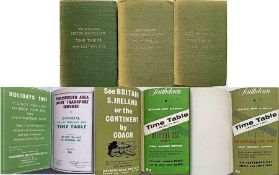 Officially-bound volumes of Southdown Motor Services TIMETABLES for the years May to May/June 1961/
