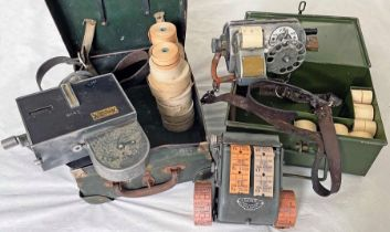 Selection (3) of TICKET MACHINES comprising a TIM machine, casing no 72, ex South Wales Transport,