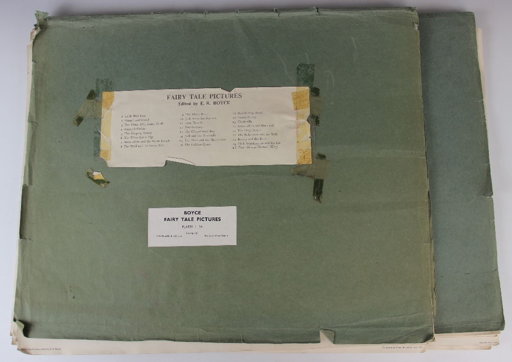 A mid 20th century folio of twenty four large format lithographic prints from 'The Gay Way Series - Image 7 of 7