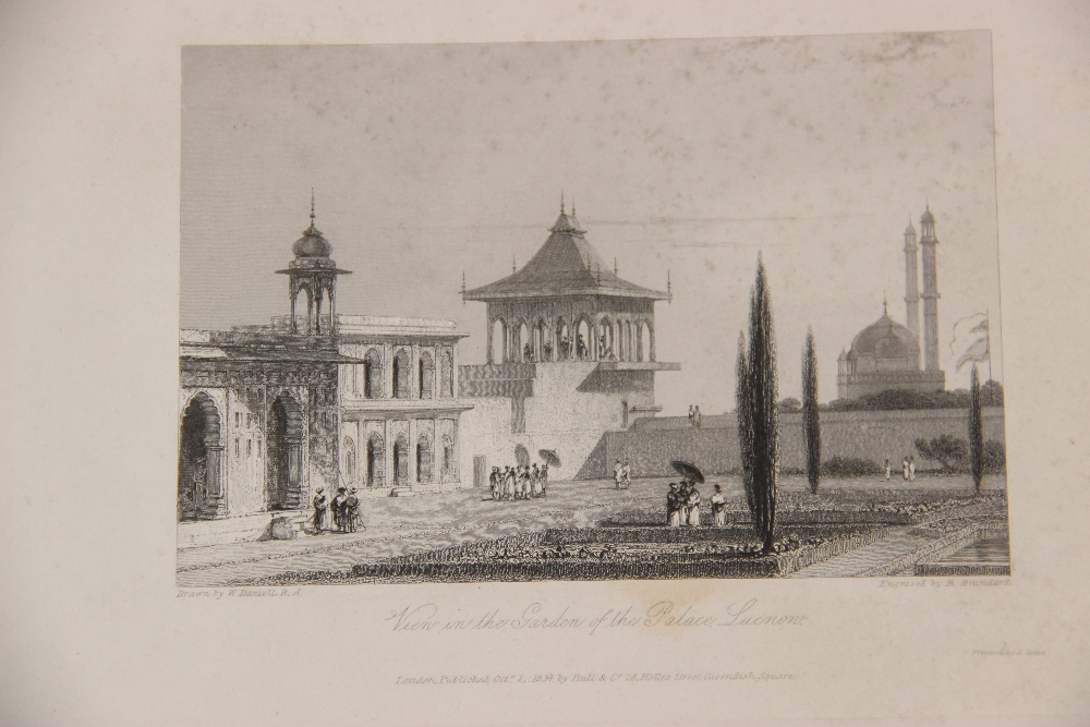 After Thomas Shotter Boys (1803-1874), Eight views of French cities, comprising: 'The Porch Of - Image 15 of 30