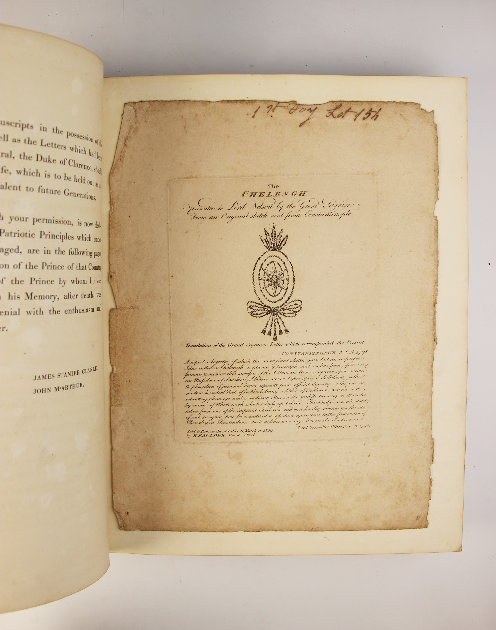 Clarke (J.S.) and McArthur (J), THE LIFE OF ADMIRAL LORD NELSON, K.B. FROM HIS LORDSHIP?S - Image 11 of 14