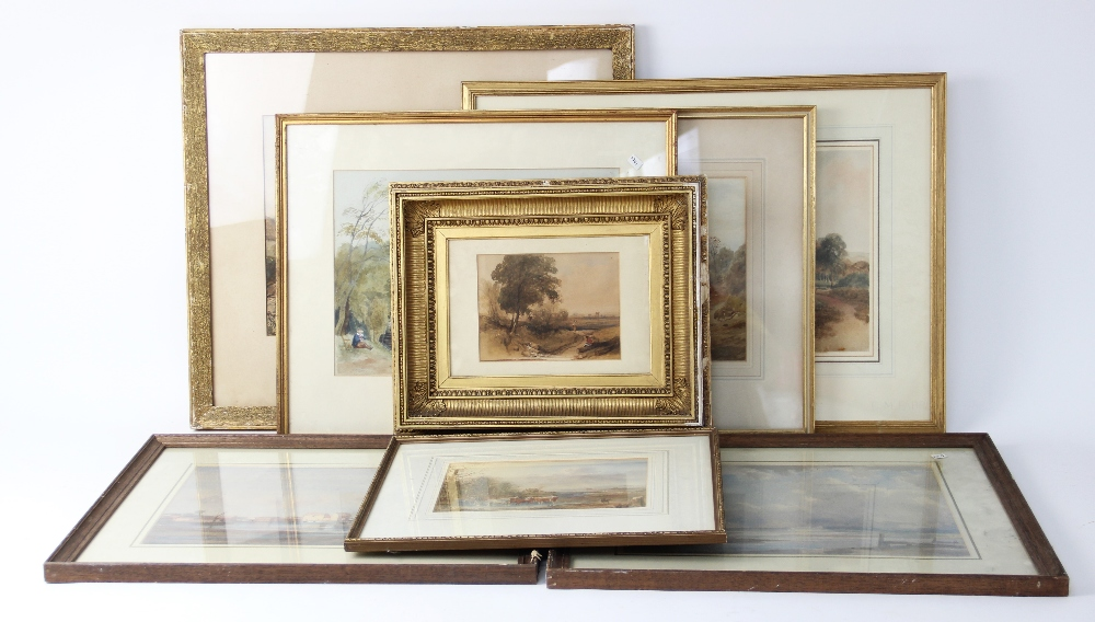 Follower of Peter De Wint (1784-1849), 'Near Lincoln', Watercolour on paper, Unsigned, 27cm x 43.