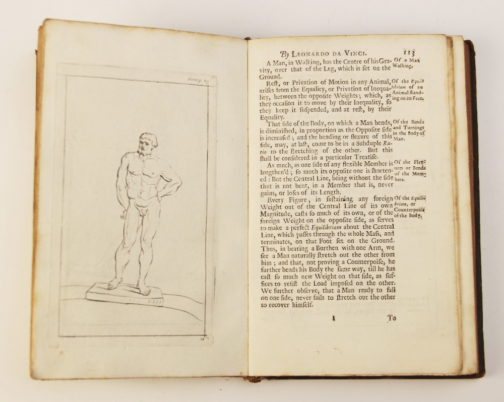 Da Vinci (L), A TREATISE OF PAINTING BY LEONARDO DA VINCI. TRANSLATED FROM THE ORIGINAL ITALIAN, AND - Image 9 of 9