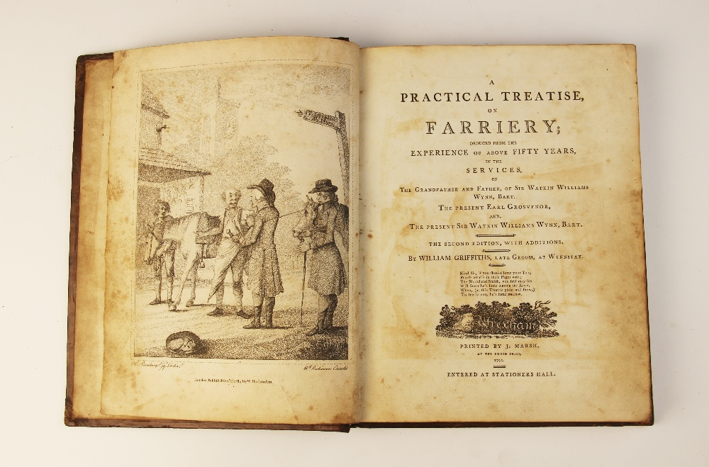 Griffiths (W), A PRACTICAL TREATISE ON FARRIERY, DEDUCED FROM THE EXPERIENCE OF ABOVE FORTY YEARS, - Image 9 of 9