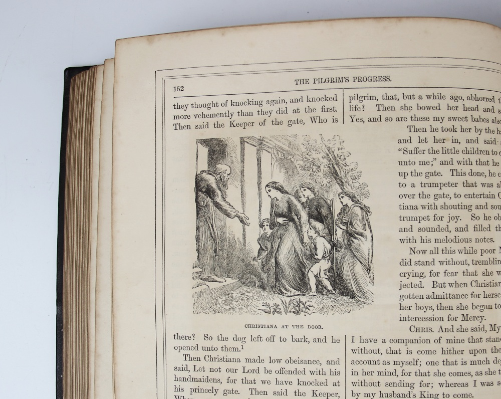 Bunyan (J), THE SELECT WORKS OF JOHN BUNYAN: WITH A LIFE OF THE AUTHOR BY GEORGE CHEEVER, first - Image 8 of 9