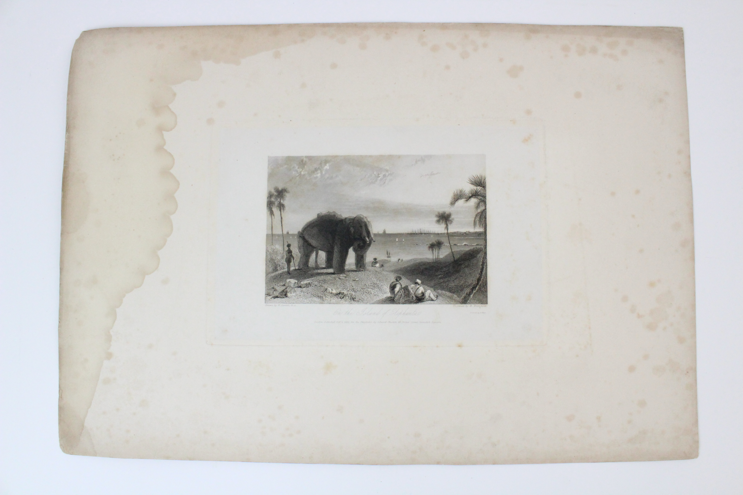 After Thomas Shotter Boys (1803-1874), Eight views of French cities, comprising: 'The Porch Of - Image 27 of 30