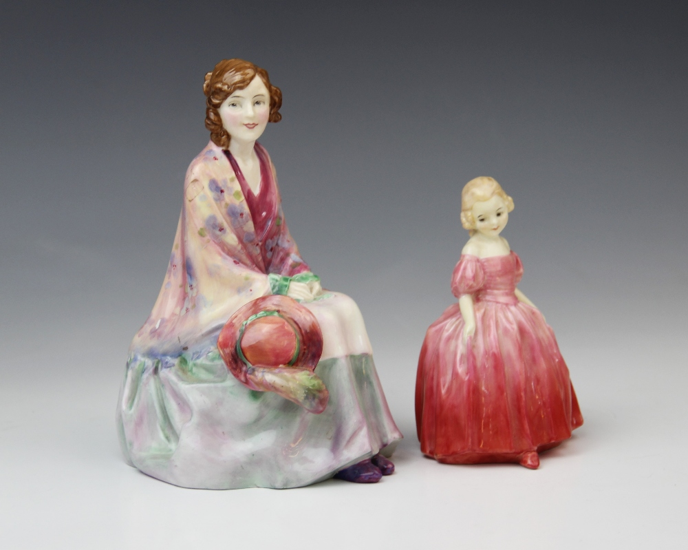 A Royal Doulton HN1620 'Rosabell' figurine, printed maker's mark with painted model name, number and