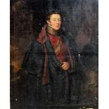 Attributed to of William Owen RA (1769-1825), Portrait of an officer in the uniform of the Life