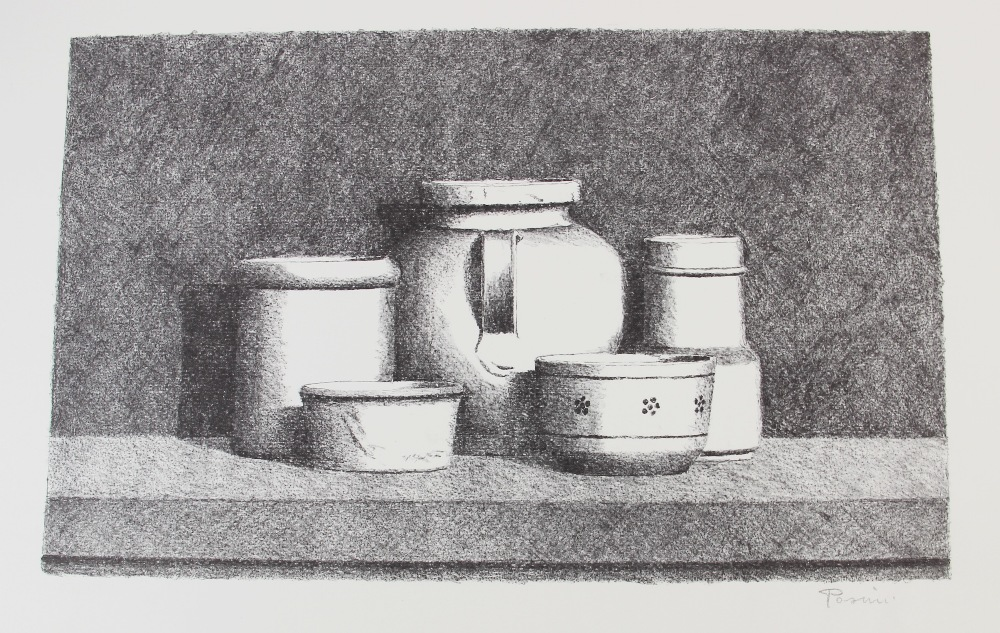A collection of watercolours, pen and ink sketches and pencil sketches, early 20th century, loose, - Image 2 of 10