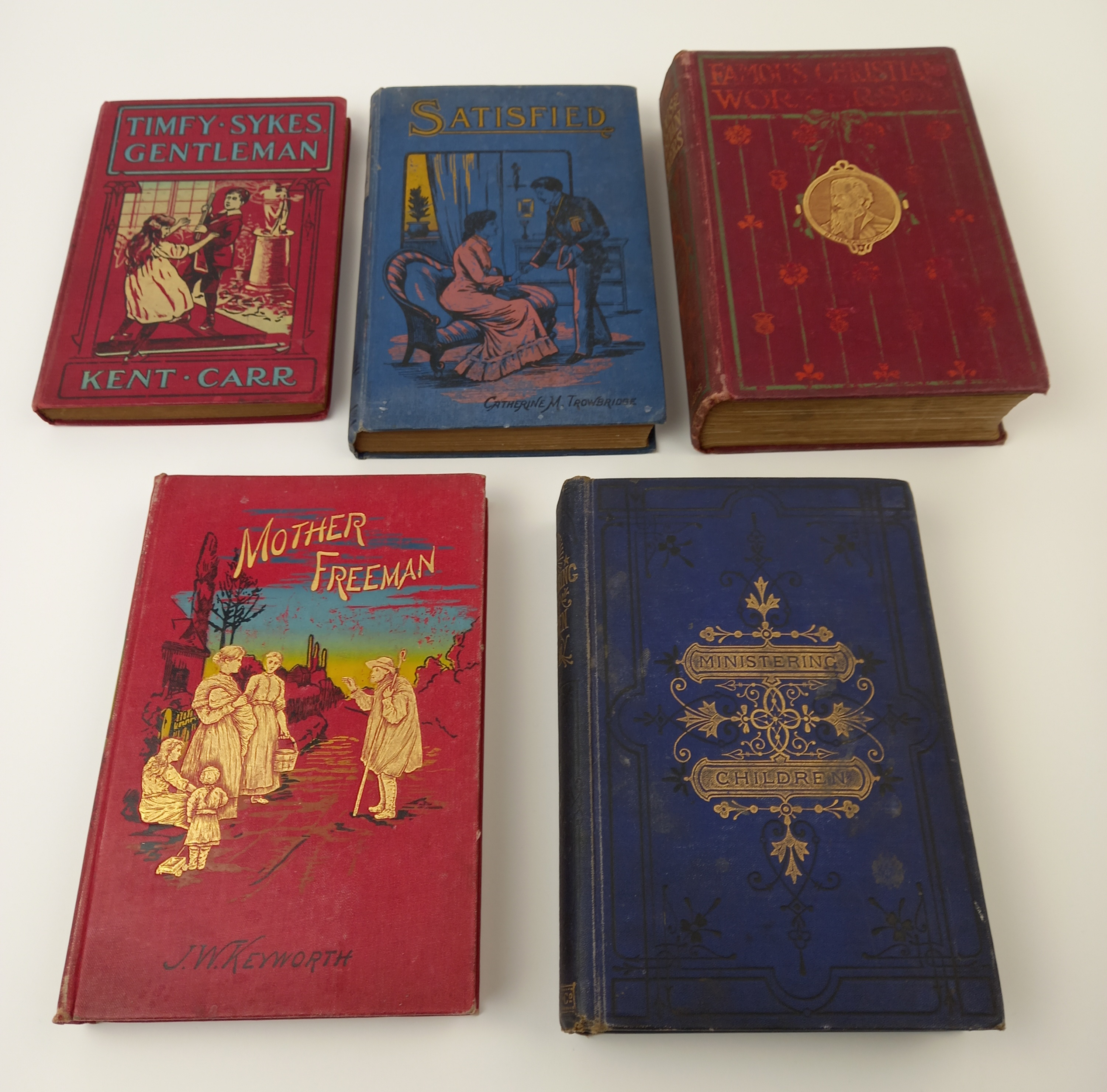 Hazelwood (C) et al, THE PAGEANT, 1897 edition, illustrated red boards, illustrated endpapers, - Image 16 of 16