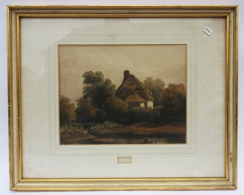 William Callow RWS (1812-1908), View of a rural stream with hills beyond, Watercolour, Signed - Image 5 of 8