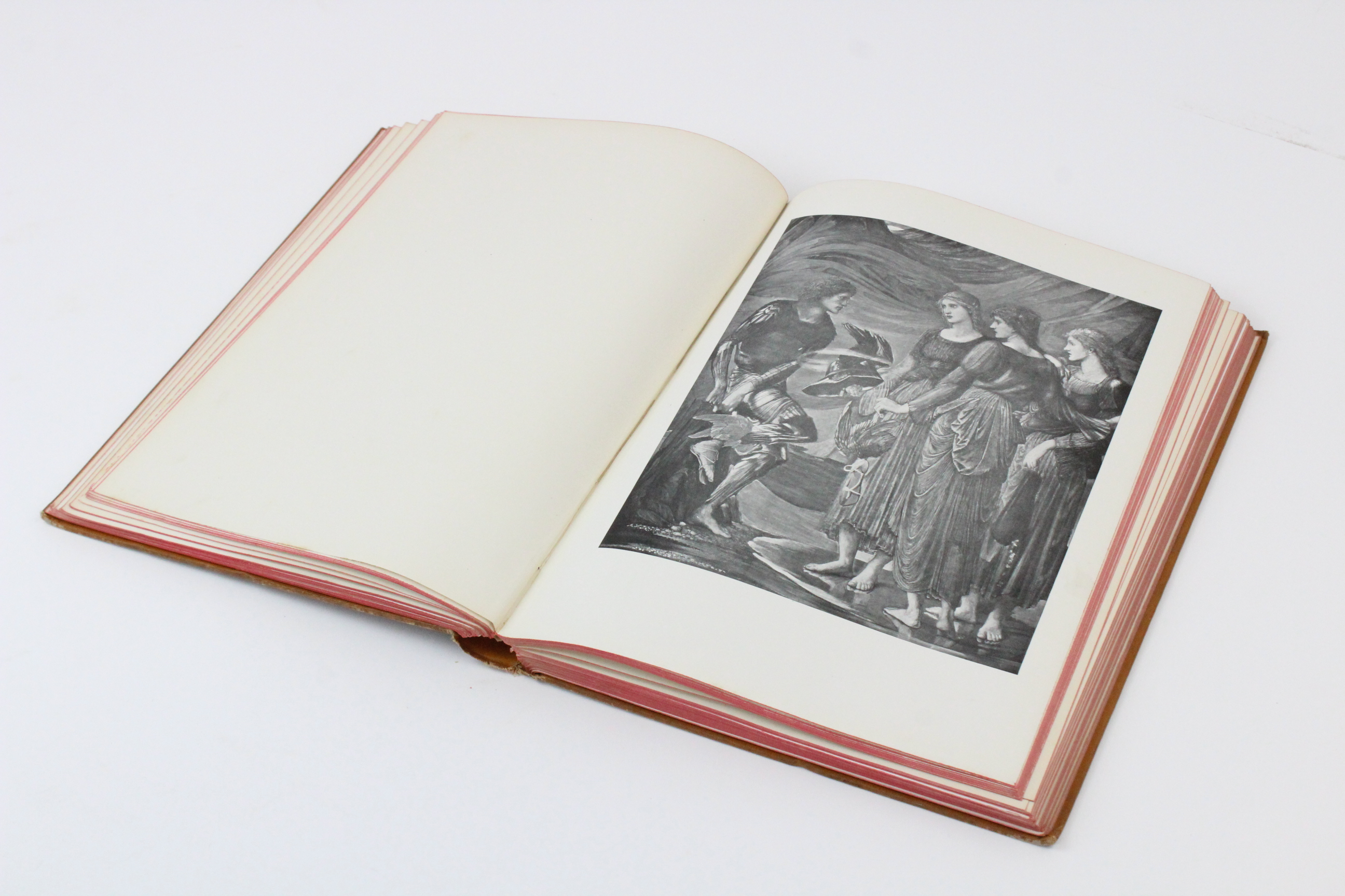 Hazelwood (C) et al, THE PAGEANT, 1897 edition, illustrated red boards, illustrated endpapers, - Image 7 of 16