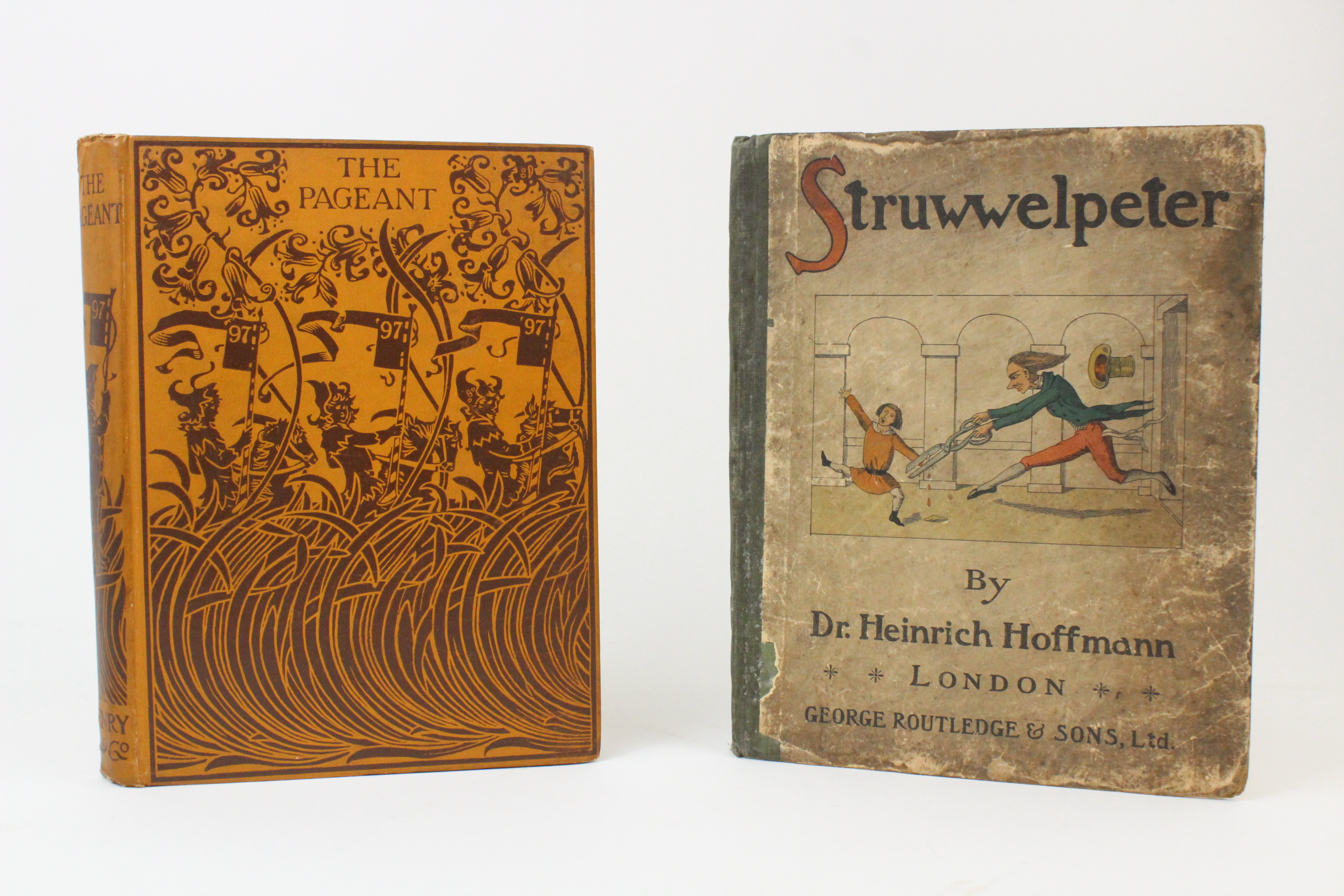 Hazelwood (C) et al, THE PAGEANT, 1897 edition, illustrated red boards, illustrated endpapers,
