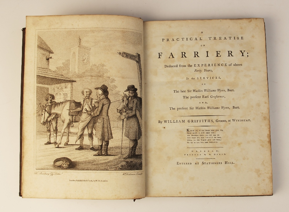Griffiths (W), A PRACTICAL TREATISE ON FARRIERY, DEDUCED FROM THE EXPERIENCE OF ABOVE FORTY YEARS, - Image 8 of 9