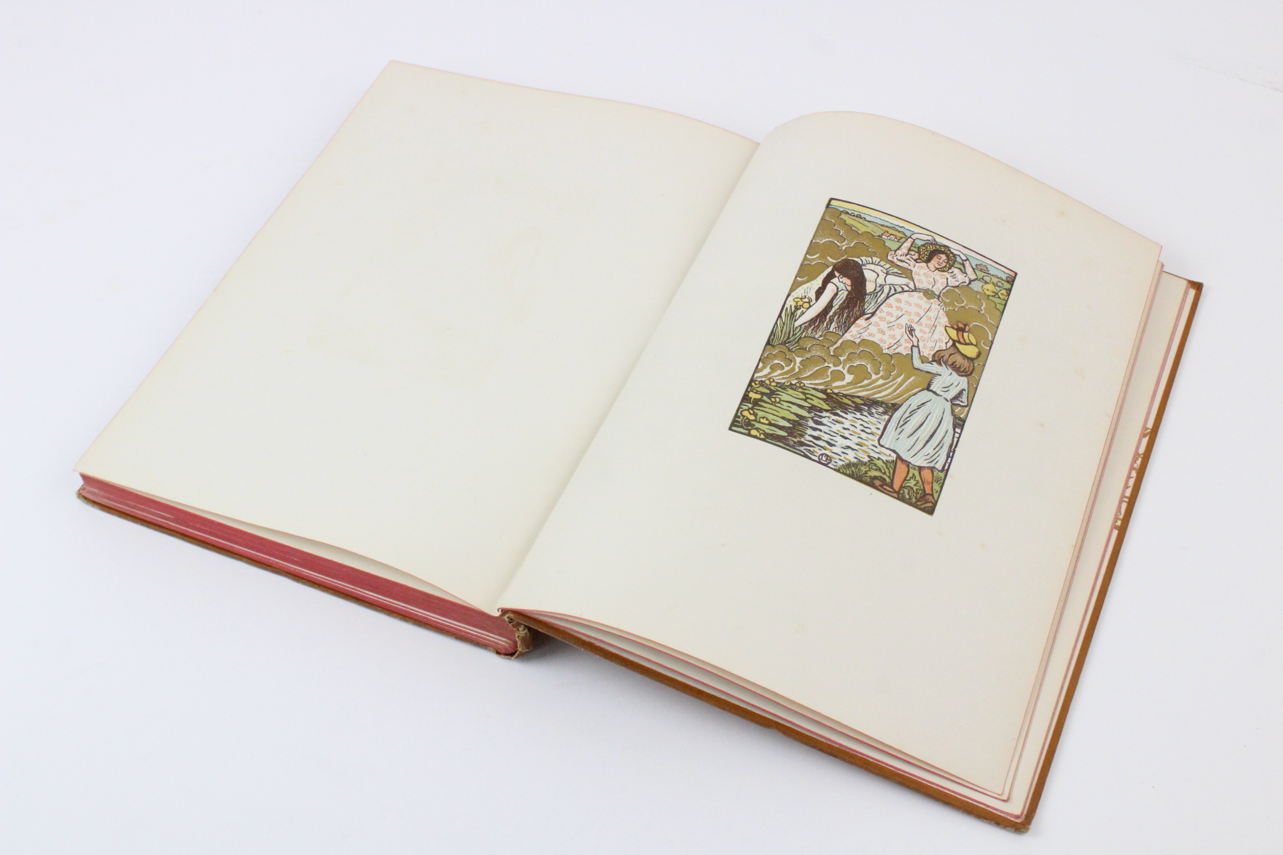 Hazelwood (C) et al, THE PAGEANT, 1897 edition, illustrated red boards, illustrated endpapers, - Image 3 of 16