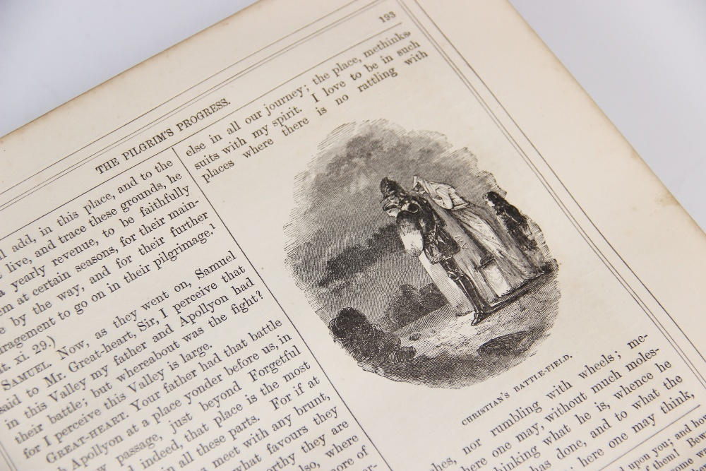 Bunyan (J), THE SELECT WORKS OF JOHN BUNYAN: WITH A LIFE OF THE AUTHOR BY GEORGE CHEEVER, first - Image 9 of 9