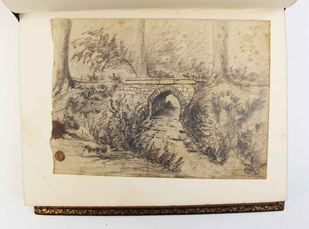 Bell (R), GOLDEN LEAVES FROM THE WORKS OF THE POETS AND PAINTERS, first edition, full leather, - Image 6 of 9