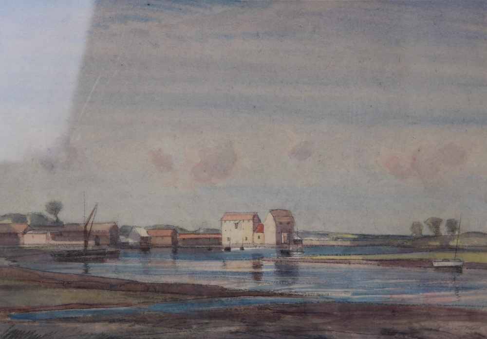 Follower of Peter De Wint (1784-1849), 'Near Lincoln', Watercolour on paper, Unsigned, 27cm x 43. - Image 8 of 9