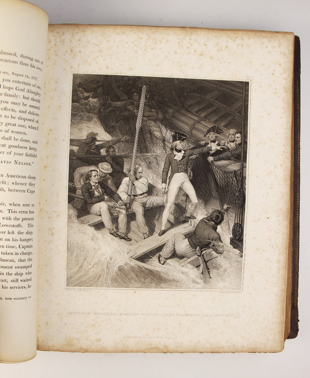 Clarke (J.S.) and McArthur (J), THE LIFE OF ADMIRAL LORD NELSON, K.B. FROM HIS LORDSHIP?S - Image 12 of 14