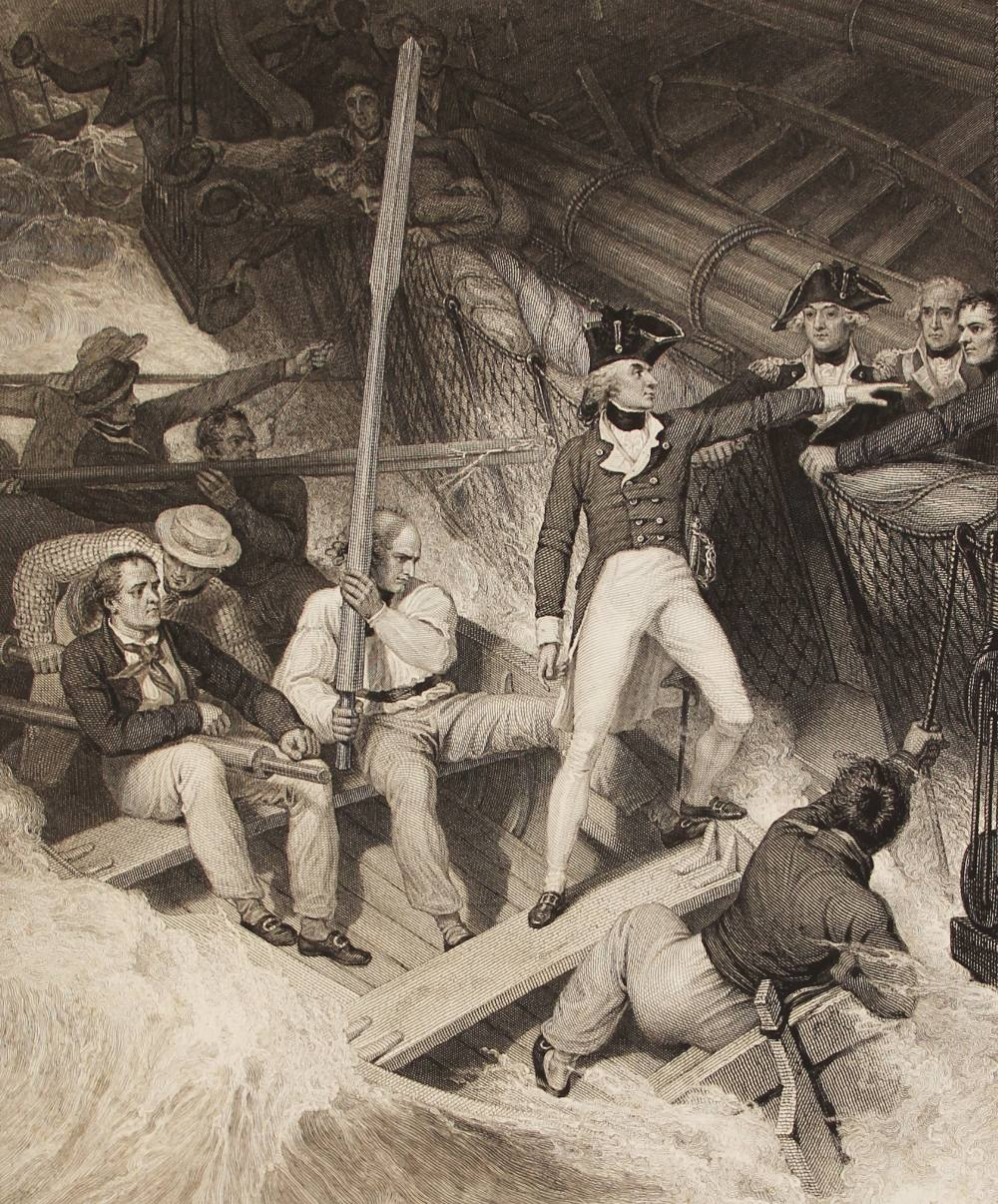 Clarke (J.S.) and McArthur (J), THE LIFE OF ADMIRAL LORD NELSON, K.B. FROM HIS LORDSHIP?S - Image 13 of 14