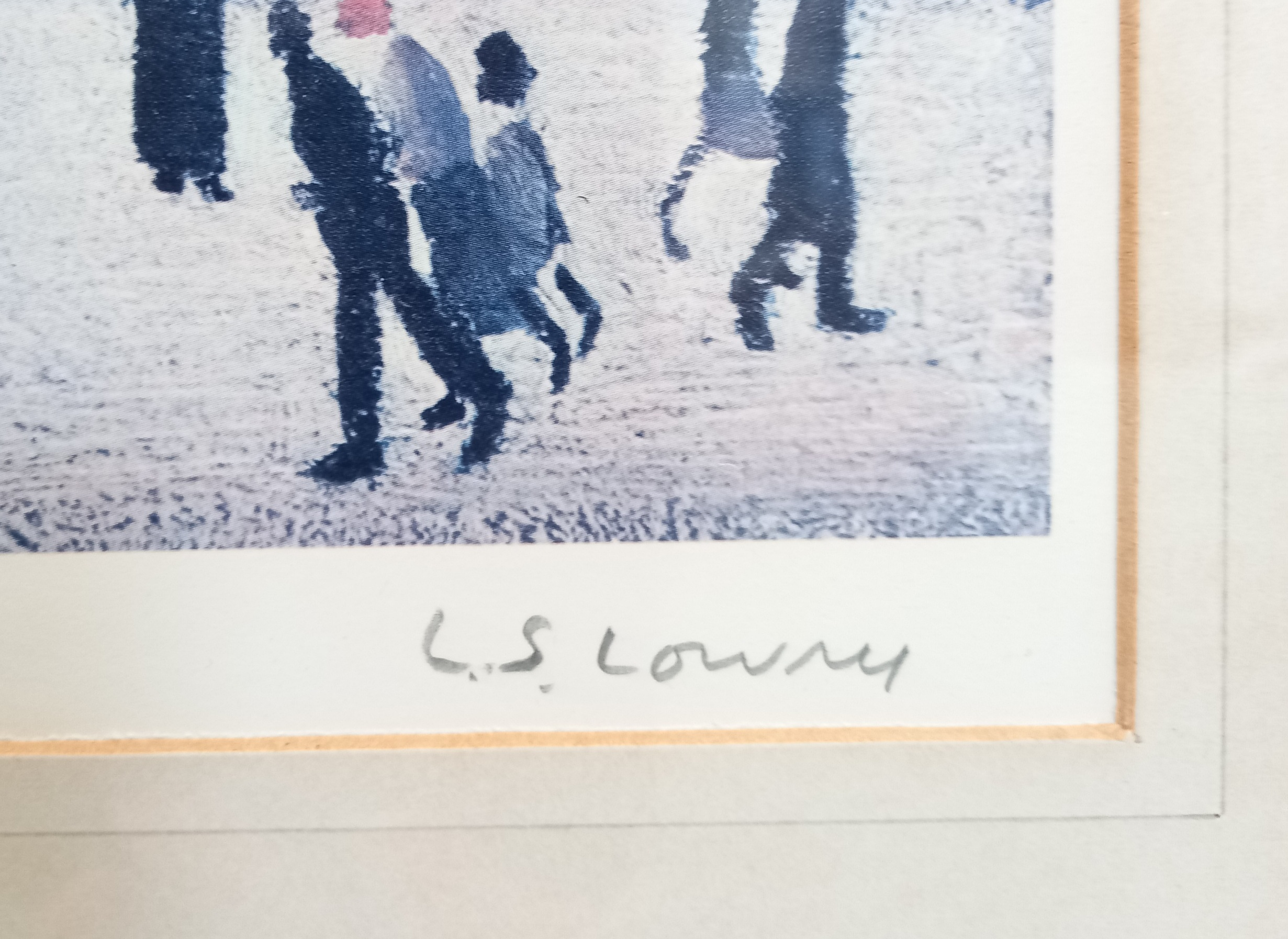 Laurence Stephen Lowry RA (British 1887-1976), 'Britain at Play' Limited edition print on paper, - Image 5 of 7