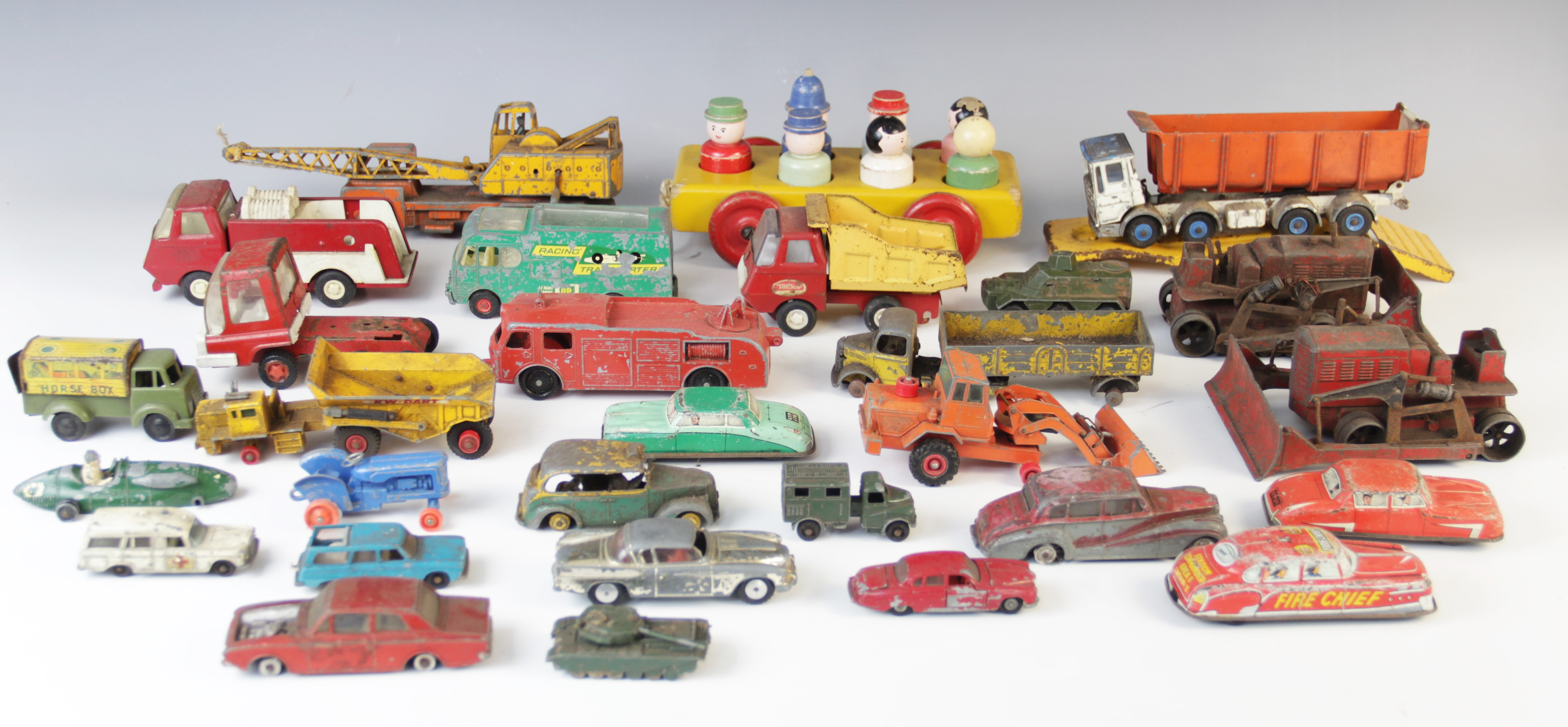 A collection of vintage diecast model vehicles, by makers to include Corgi, - Image 2 of 2