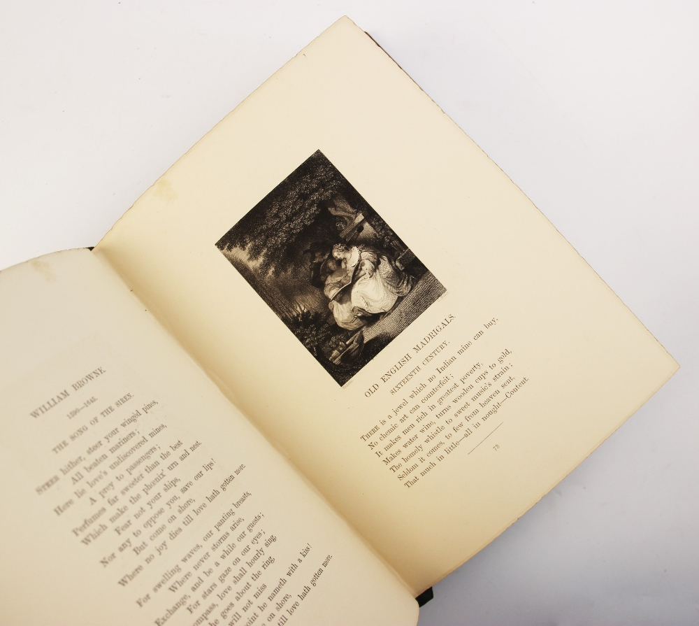 Bell (R), GOLDEN LEAVES FROM THE WORKS OF THE POETS AND PAINTERS, first edition, full leather, - Image 8 of 9