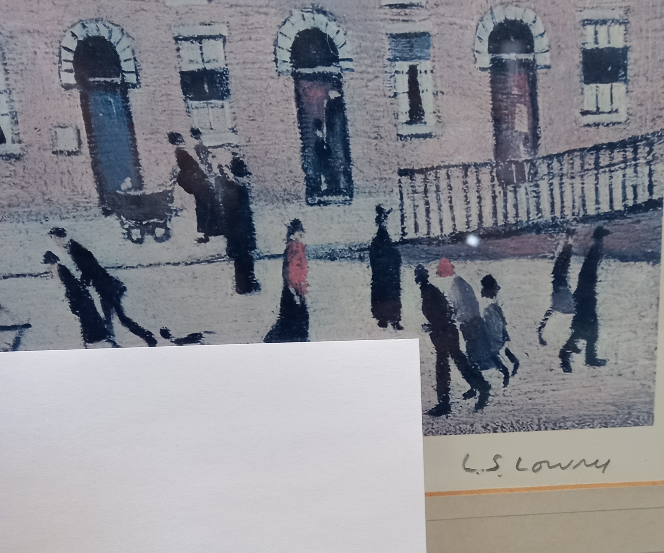 Laurence Stephen Lowry RA (British 1887-1976), 'Britain at Play' Limited edition print on paper, - Image 7 of 7