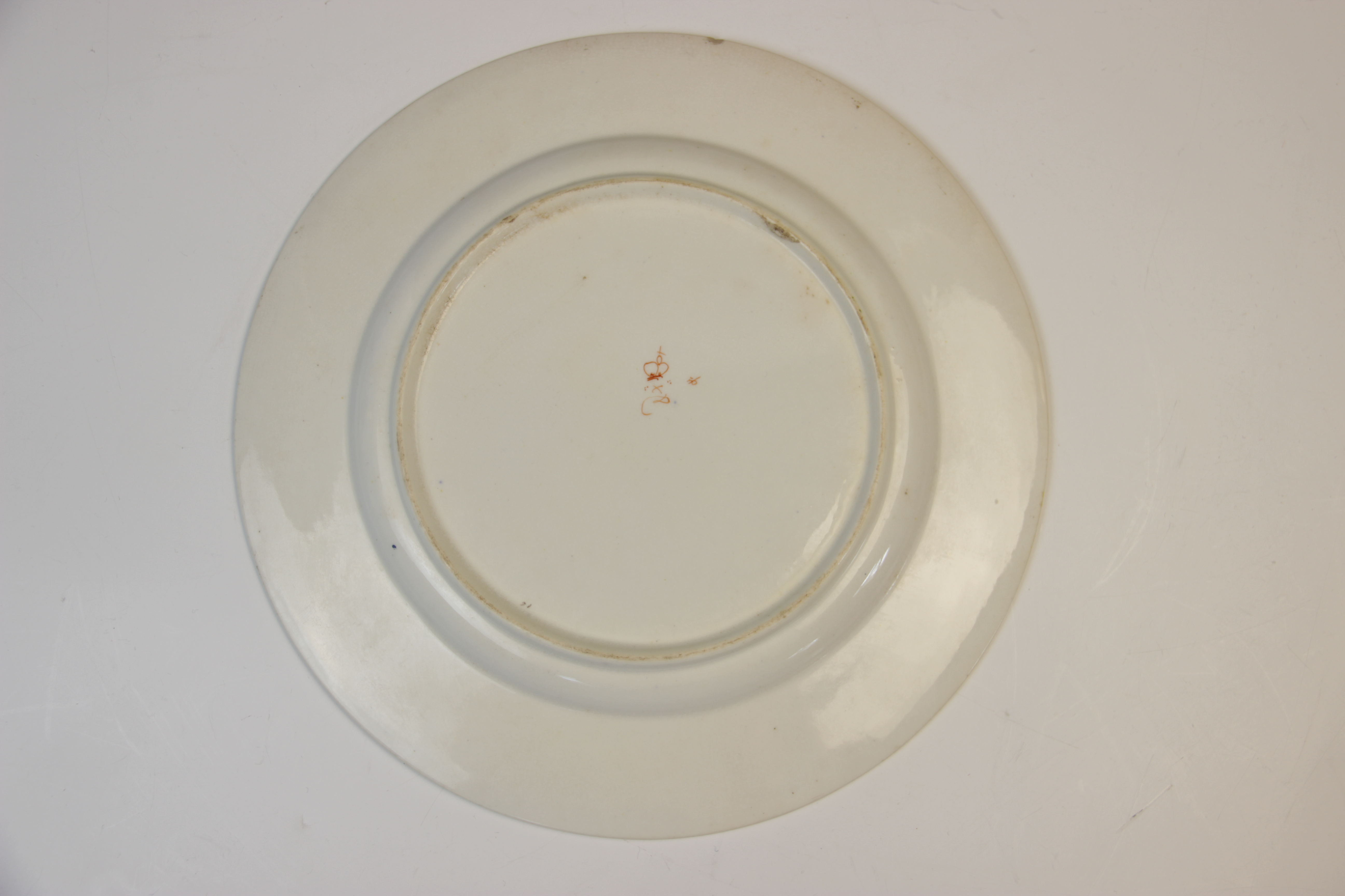 Fifteen Derby florally decorated plates, 19th century, each of circular form and decorated with - Image 5 of 11