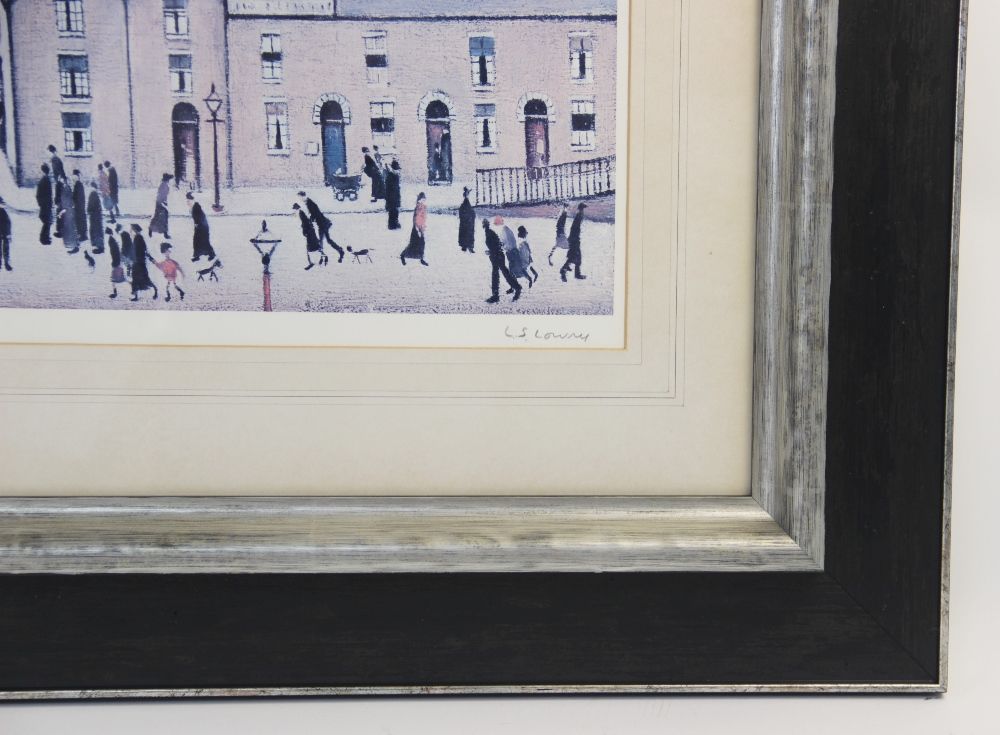 Laurence Stephen Lowry RA (British 1887-1976), 'Britain at Play' Limited edition print on paper, - Image 3 of 7